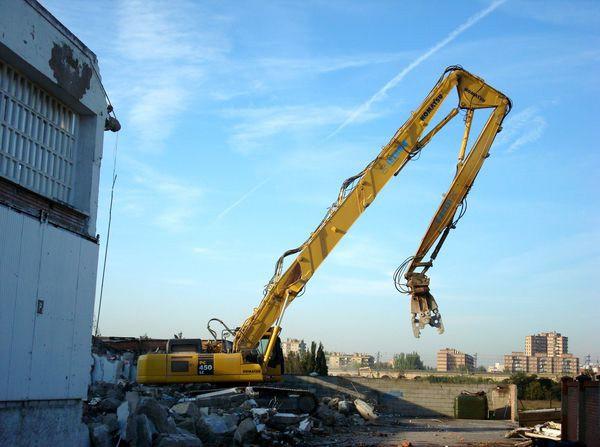 Аренда экскаватора разрушителя Komatsu 450