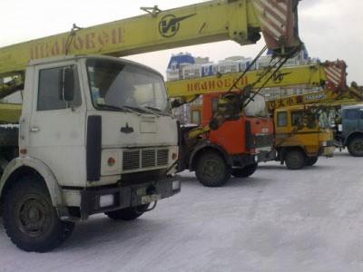 Аренда автокрана 16 тонн